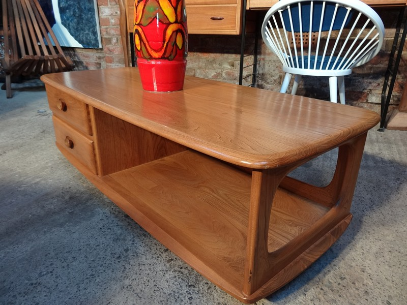 Ercol Pandoras box coffee table